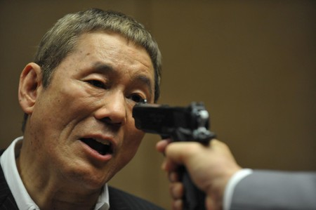 Takeshi Kitano in Beyond Outrage