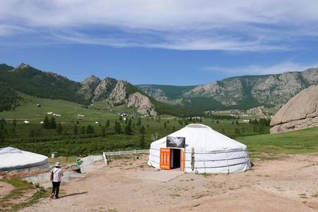 Mongolian Yurt | © H Sinica/Flickr
