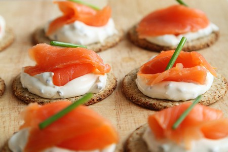 Salmon & Cream Cheese/©Pixabay