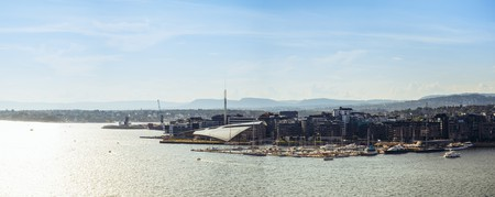 Panorama of Oslo Harbour with Astrup Fearnley Museum of Modern Art © Benson Kua / Flickr
