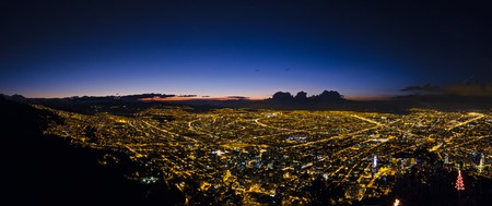 Bogota at Dawn | ©Fernando Garcia/Flickr