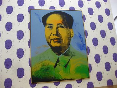 Warhol's massive portrait of Mao (1973) at the Hamburger Bahnhof