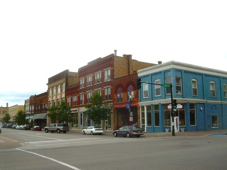 Grand Forks, downtown © Ross Griff
