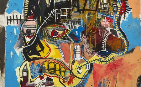 Untitled, 1981 by Jean-Michel Basquiat at The Broad Contemporary Art Museum   © photocritical/Shutterstock