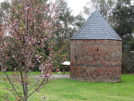 1750 round Smoke House on Boone Hall Planation Mount Pleasant South Carolina © denisbin/Flickr