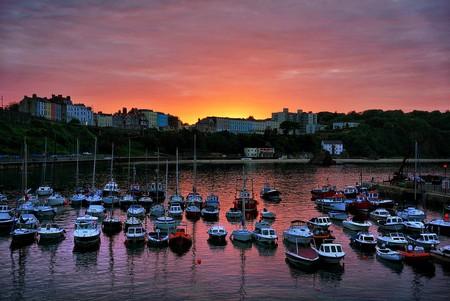 Tenby Harbour Sunset © Richard Jones/Flickr