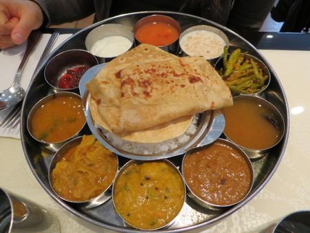 Indian food from Saravana Bhavan, New York  ©taylorandayumi/Flickr