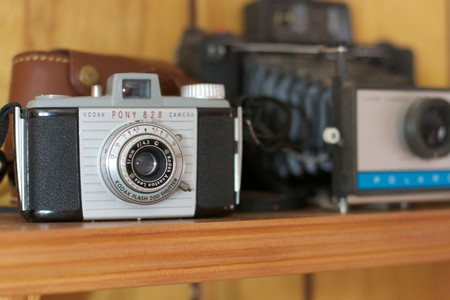 Vintage camera collection © Alan Levine / Flickr