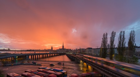 Stockholm sunset   © Arild/Flickr