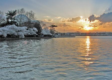 Sun Set on the Tidal Basin ©terren in Virginia