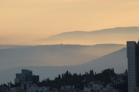 Haifa Israel - Dawn view ©David King