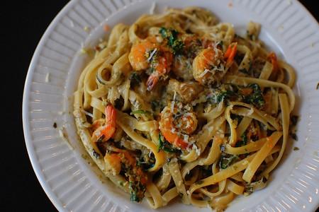 Pasta with shrimp  | © Richard Hsu/Flickr