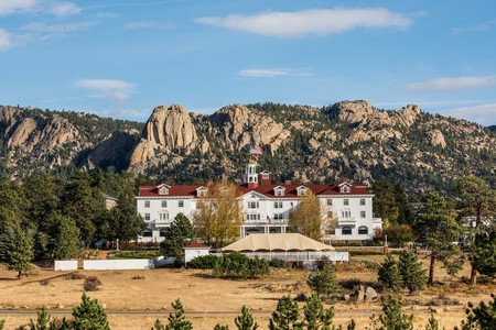 The historic Stanley Hotel, Colorado