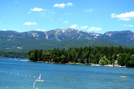 Whitefish, Montana © -ted
