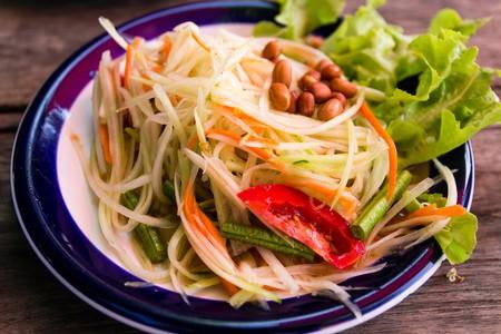 Spicy papaya salad | © Daisuke tashiro / Flickr