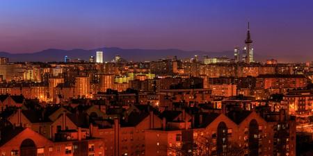Madrid skyline   © Barcex