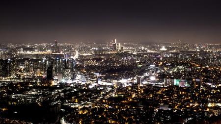 Seoul by night, South Korea/ ©Pixabay
