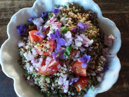 Fresh and healthy quinoa salad   © seesternrea/Flickr