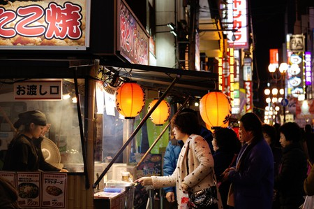 Osaka street food   © chopstuey/Flickr