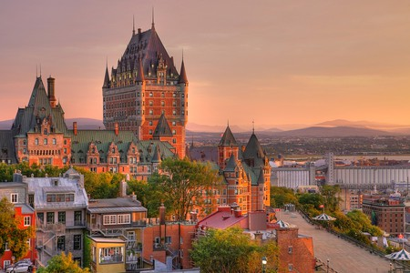 Frontenac Castle in Old Quebec City | © mervas/Shutterstock