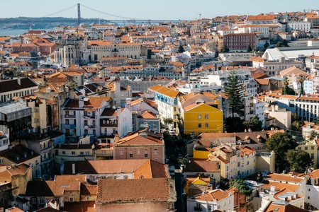 The views from Miradouro da Graça are among the finest in Lisbon