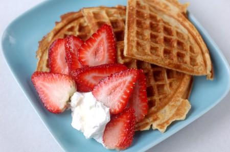 Strawberry waffles | © manray3/Flickr