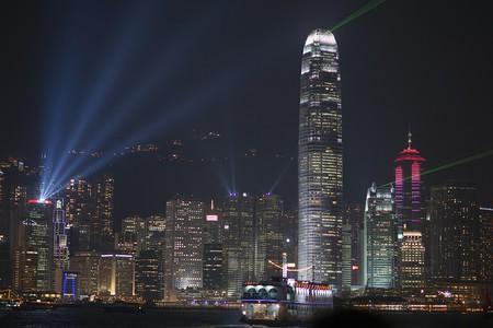 Hong Kong Lazer Show   © Barbara Willi/Flickr