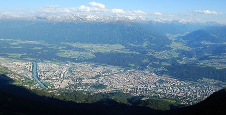 Innsbruck, view from northwest | © Svickova/Wikicommons