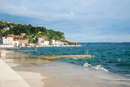 Slovenian beach   © someone10x/Flickr