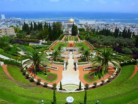 Bahai Garden, Haifa - @Ronen Marcus/WikiMedia
