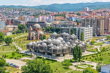 The National Library of Pristina is one of the quirkiest buildings in the world