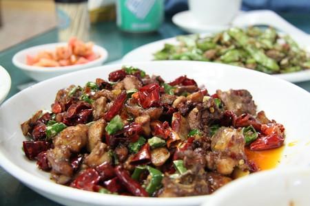 Spicy Sichuan Food   © Matt Ryall/Flickr