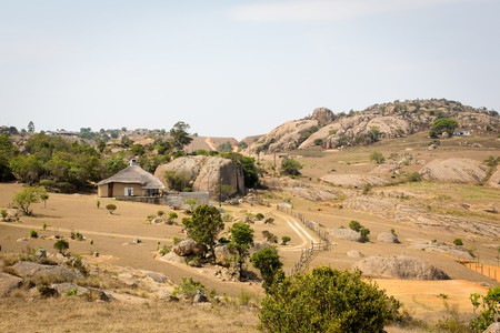 The roads in more remote areas of eSwatini can be bumpy and uneven