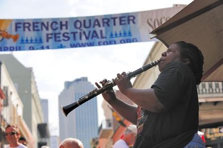 French Quarter Jazz Festival|© Aris Vrakas/Wikimedia Commons