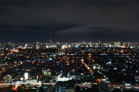 Malam hari di Jakarta ©rachmatwhd