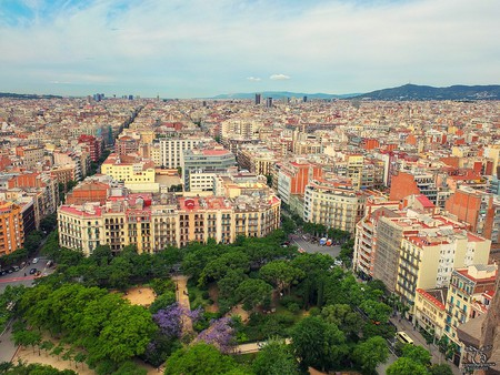 View from Sagrada Familia © Bernhard Latzko / Flickr
