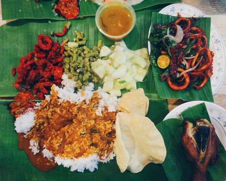 Banana Leaf Rice for dinner | © Sham Hardy/Flickr