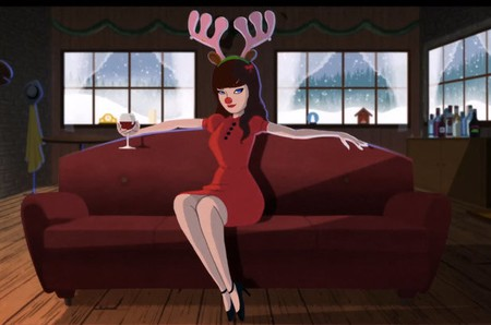 Still from She & Him – Baby It's Cold Outside