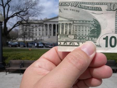 $10 and the US Treasury ©Ryan McFarland