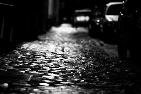 Lille, un trottoir, la nuit   © Dude Pascalou/Flickr