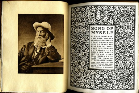 Song of Myself by Walt Whitman, Roycroft 1906   ©  William Creswell/Flickr