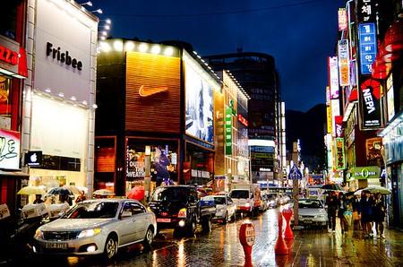 Night at Seomyeon, Busan