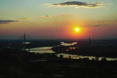 Belgrade Sundown | © Jovan Markovic/Flikr