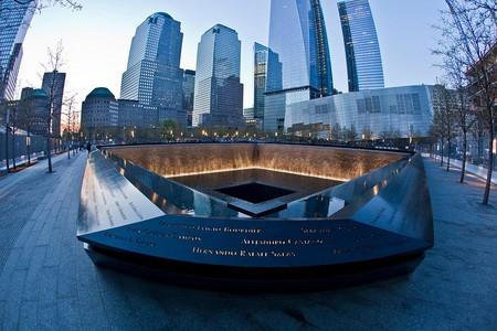 Inside the September 11th Memorial in New York City