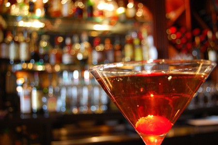 A Manhattan cocktail   © Southern Foodways Alliance/Flickr