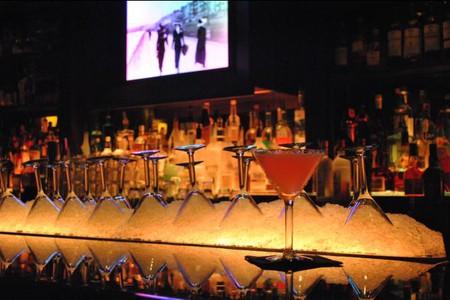 Martini Glasses   Courtesy of City Bar