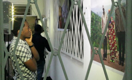 Exhibition at Goethe Institute, Kigali|© Creative Court/Wikimedia Commons
