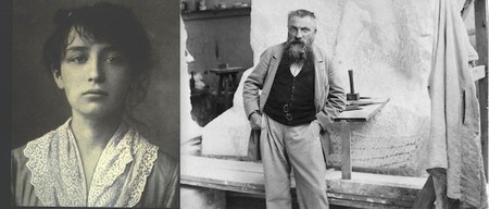 Camille (left) and Rodin (right) | © Unknown/WikiCommons (left) © Paul François Arnold Cardon (a) Dornac/WikiCommons (right)