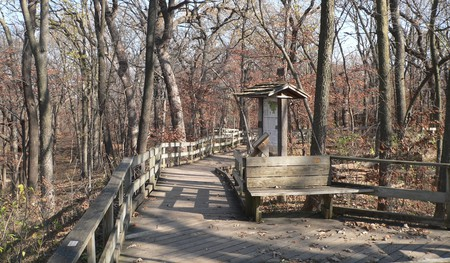Fontenelle Forest Boardwalk Trails|©Ammodramus/WikiCommons