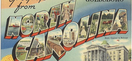 Greetings from Goldsboro, North Carolina   © The Tichnor Brothers Collection/WikiCommons